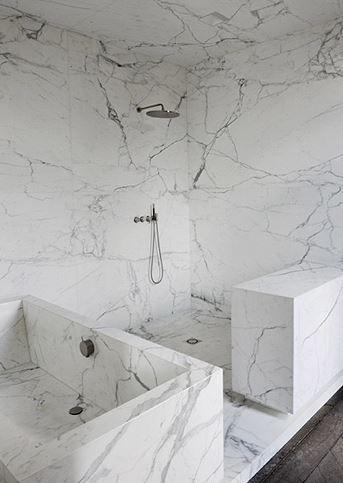 baño-mármol