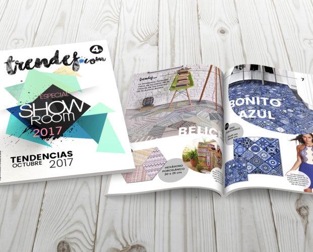Revista Trendef trendencias cerámica 2017