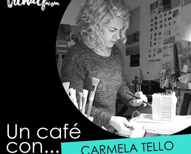 UN CAFE CON CARMELA TELLO